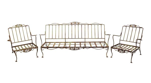 Patio Furniture - Wrought Iron Patio Furniture Set