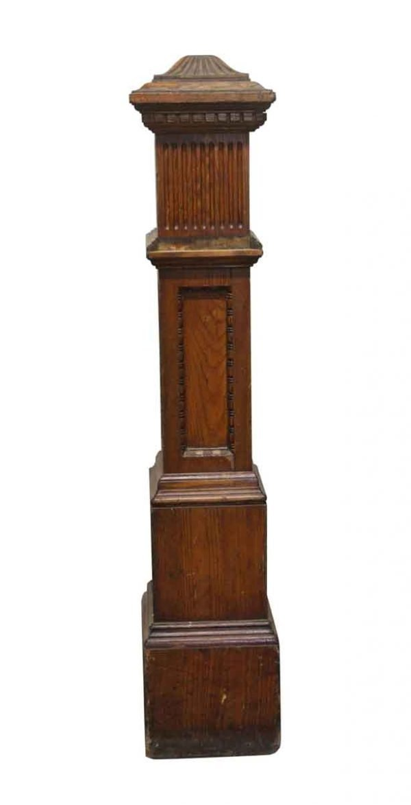 Staircase Elements - Wooden Antique Staircase Post