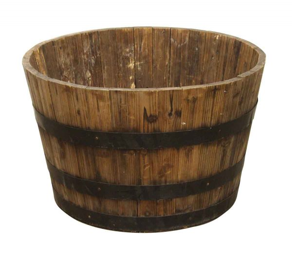 Barrels & Crates - Vintage Wooden 26 in. Barrel