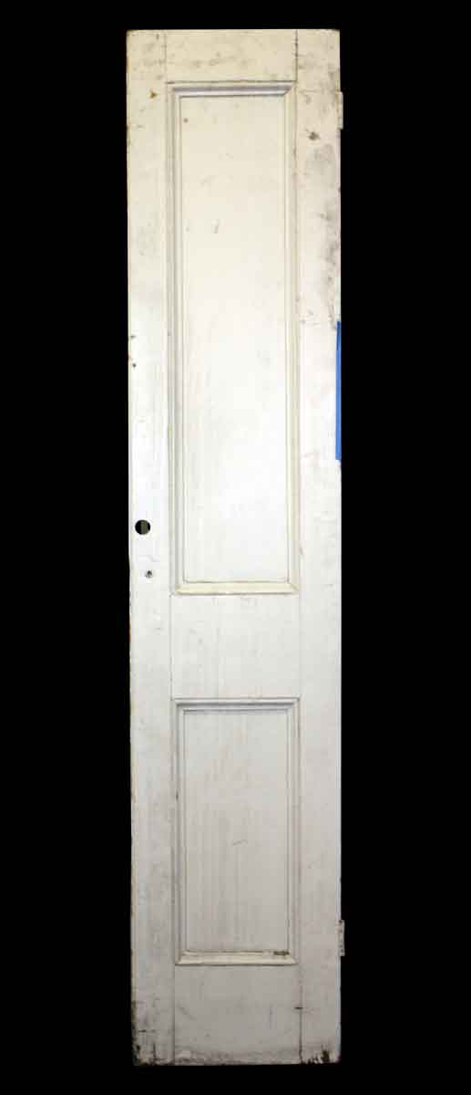 Closet Doors - Antique 2 Panel Narrow Closet Door 80.25 x 15.75