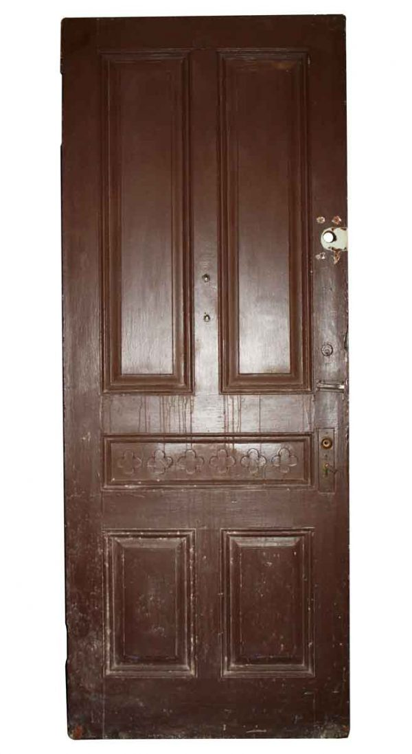 Entry Doors - Antique 5 Panel Entry Door 91 x 35.5