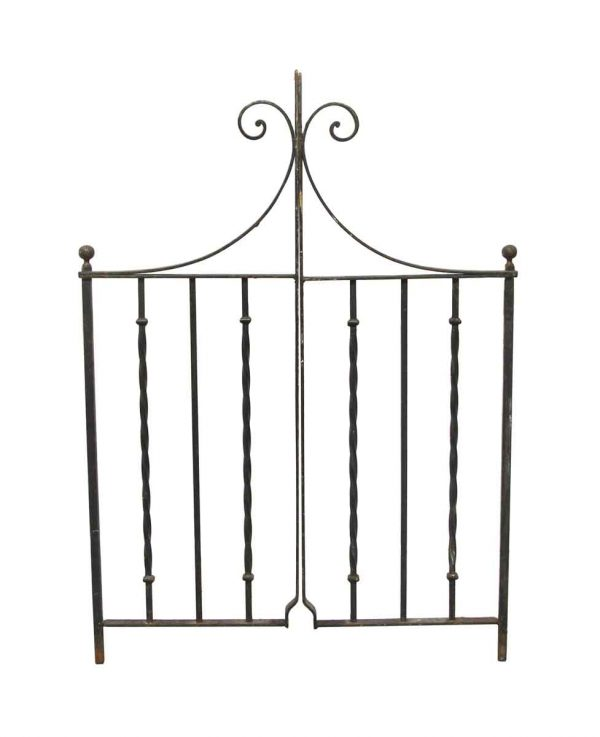 Gates - Reclaimed 37 in. W Cast Iron Double Yard Gates