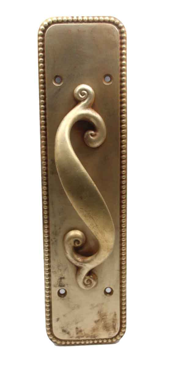 Other Hardware - Antique Bronze S Shaped Right Handle Door Pull