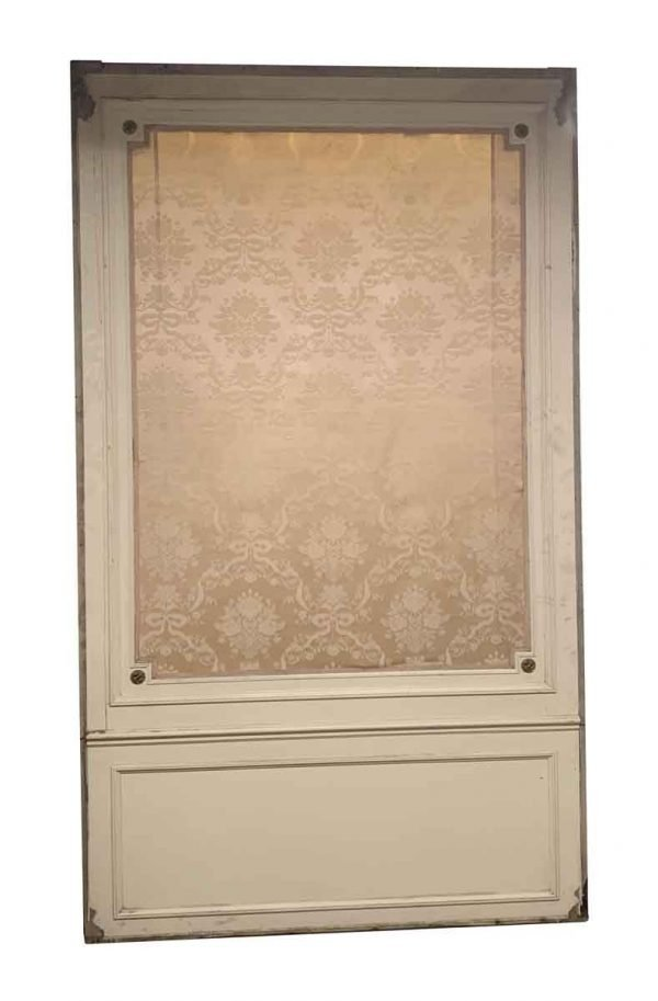Paneled Rooms & Wainscoting - Antique Ballroom 11 Foot High Paneled Wall with Silk Tapestry