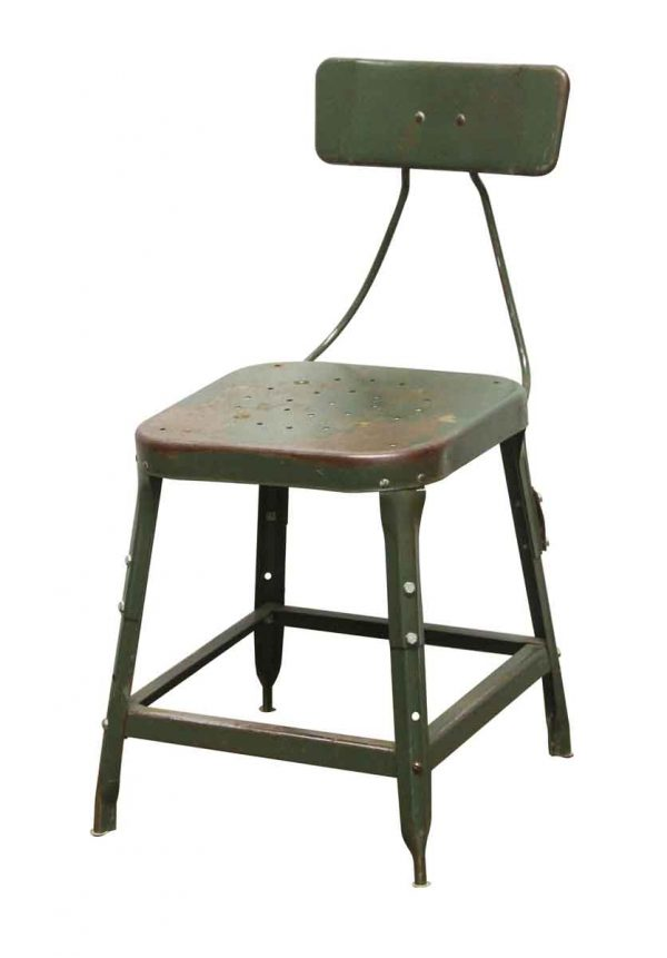 Seating - Steel Green Table Height Chair