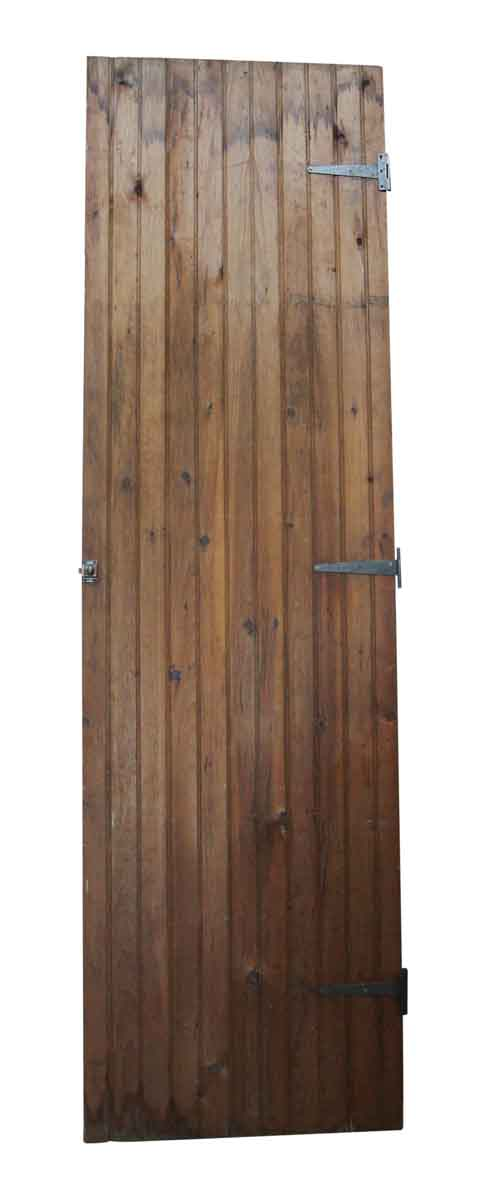 Specialty Doors - Antique Bead Board Rustic Barn Door 104 x 29.5