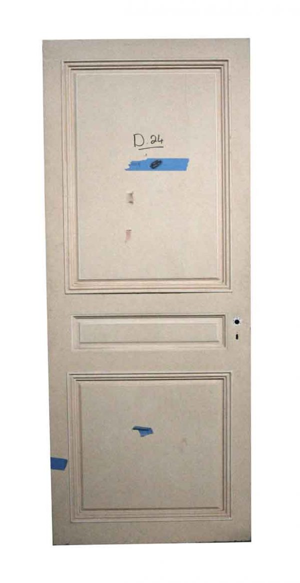 Standard Doors - Antique 3 Panel Interior Door 83.25 x 33.625
