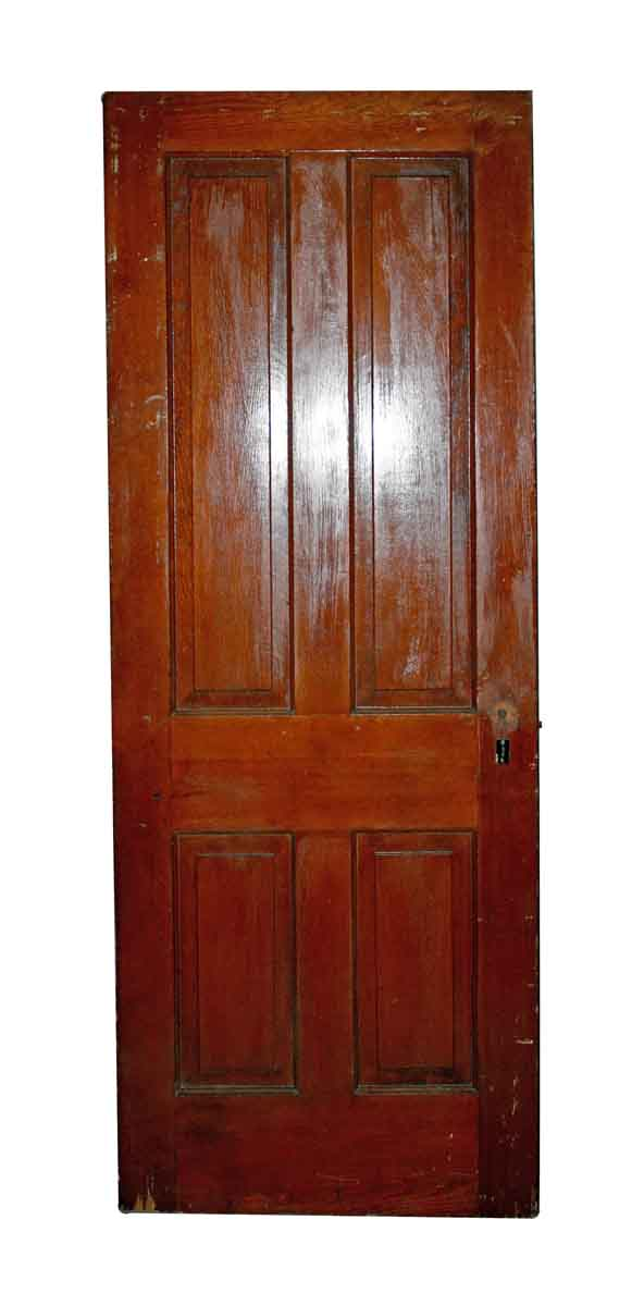 Standard Doors - Antique Raised 4 Panel Door 77.5 x 30
