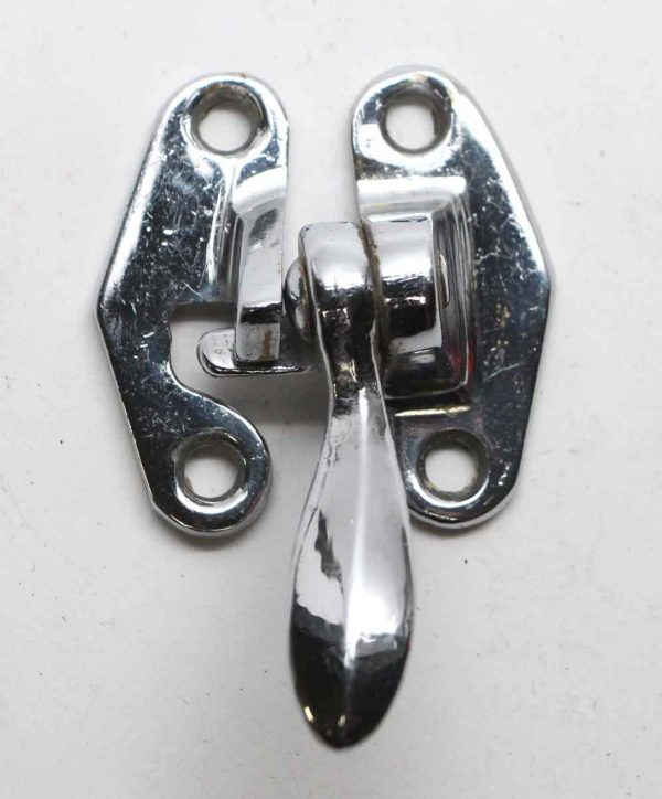 Ice Box Hardware - Chrome Plated Brass Right Hand Ice Box Latch