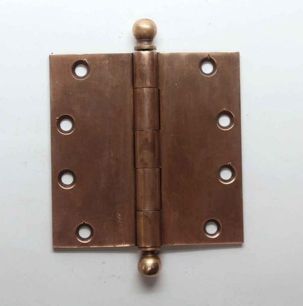 Door Hinges - 4.5 x 4.5 Solid Bronze Butt Vintage Hinge