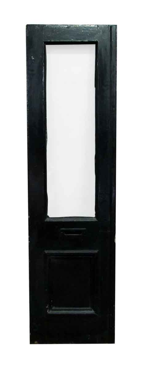 Entry Doors - Antique Half Glass Entry Door with Mail Slot 83 x 22.75