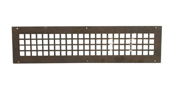 Interior Materials - Reclaimed 26.5 x 6.75 Steel Vent Cover