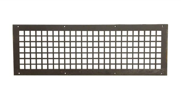 Interior Materials - Reclaimed 28.5 x 9.5 Steel Vent Cover