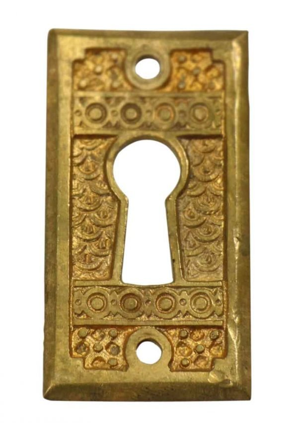 Keyhole Covers - Antique Aesthetic Bronze Keyhole Cover