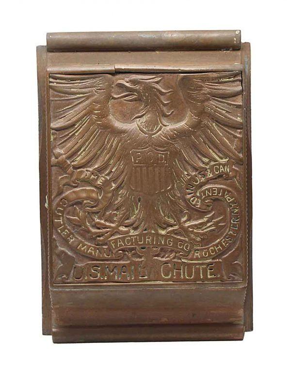 Mail Hardware - Bronze Cutler Manufacturing Mail Chute