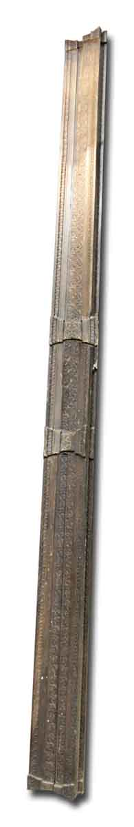 Moldings - 14 Foot Turn of the Century Floral Bronze Crown Molding