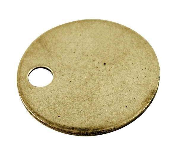 Other Hardware - Set of 50 Unstamped Brass Key Tags