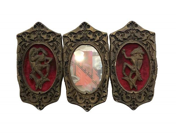 Other Wall Art  - Set of Plaster Theater Wall Tribal Plaques