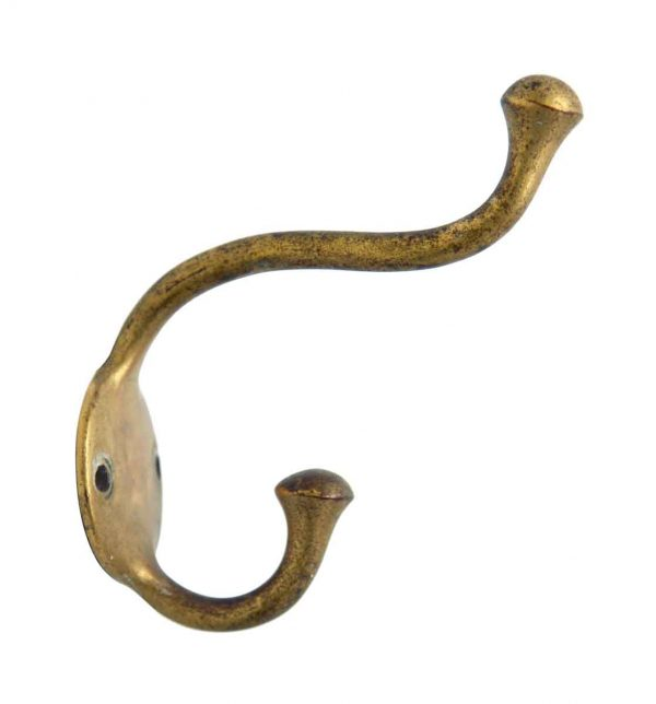 Single Hooks - Double Brass Hook