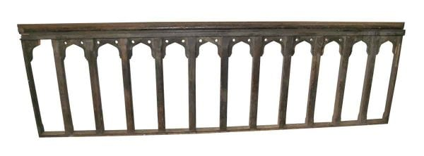 Staircase Elements - Wooden Spindle Railing Section