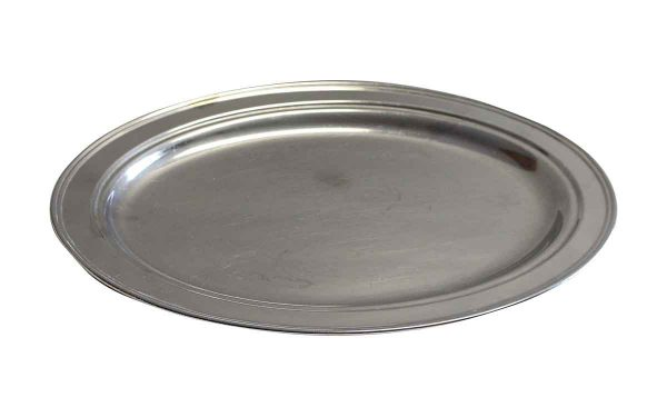 Waldorf Astoria - Waldorf Astoria 16 in. Oval Stainless Steel Tray