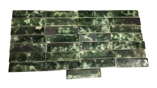 Wall Tiles - Cambridge Tile Co. Green Mixed 6 in. Tile Set