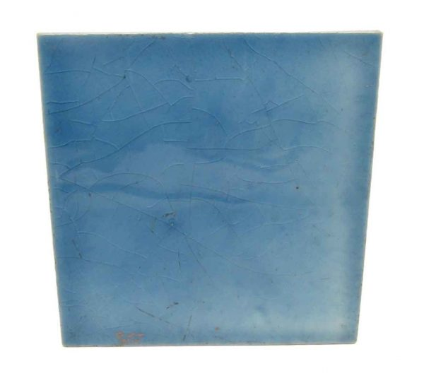 Wall Tiles - Crackled Sky Blue 3 x 3 Square Tile