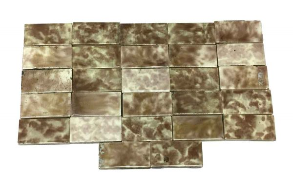 Wall Tiles - Small Brown Fireplace Accent Tiles