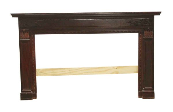 Mantels - Antique Carved Wood Federal Style Mantel