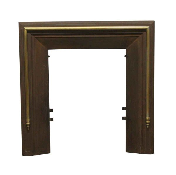 Screens & Covers - Antique Federal Fireplace Brass Insert
