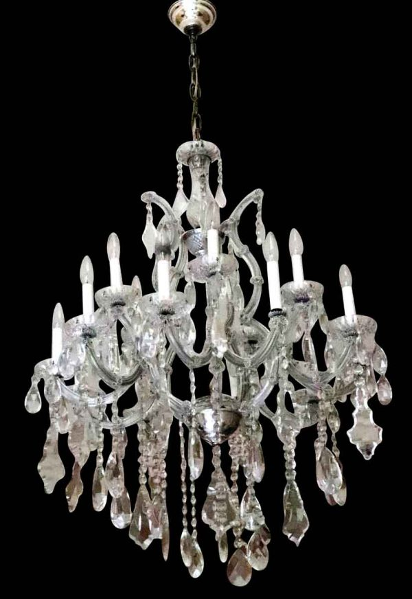 Chandeliers - Waldorf Astoria 10 Arm French Crystal Chandelier