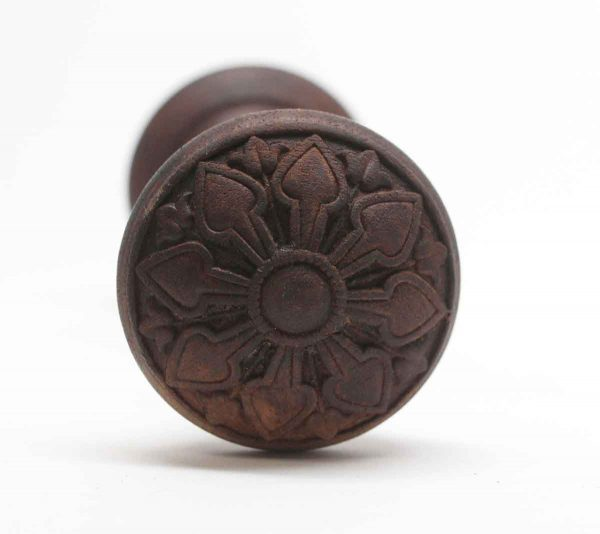 Door Knobs - Antique Ornamental Wood Co. Wood Passage Door Knobs