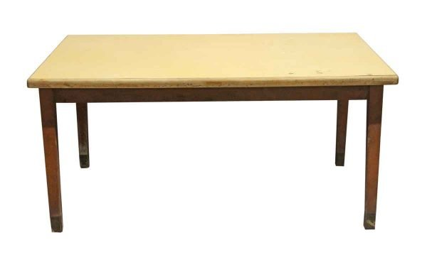 Kitchen & Dining - 1940s 5 Foot Wood Work Table