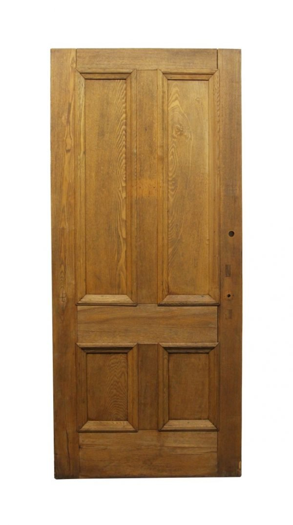 Standard Doors - Antique 4 Panel Chestnut Door Sample 90.25 x 39.75