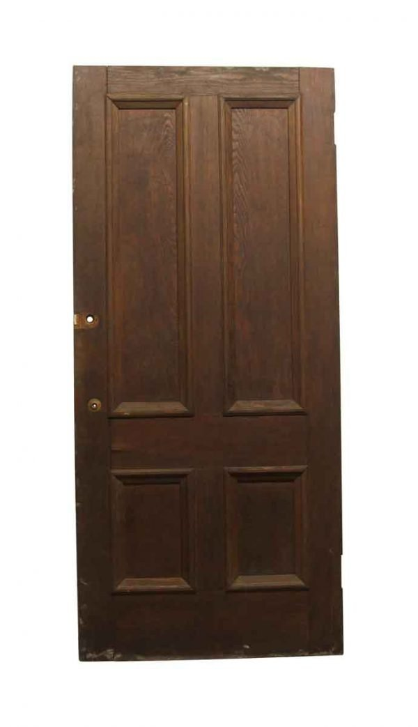 Standard Doors - Old Chestnut 4 Panel Privacy Door 90 x 40.25