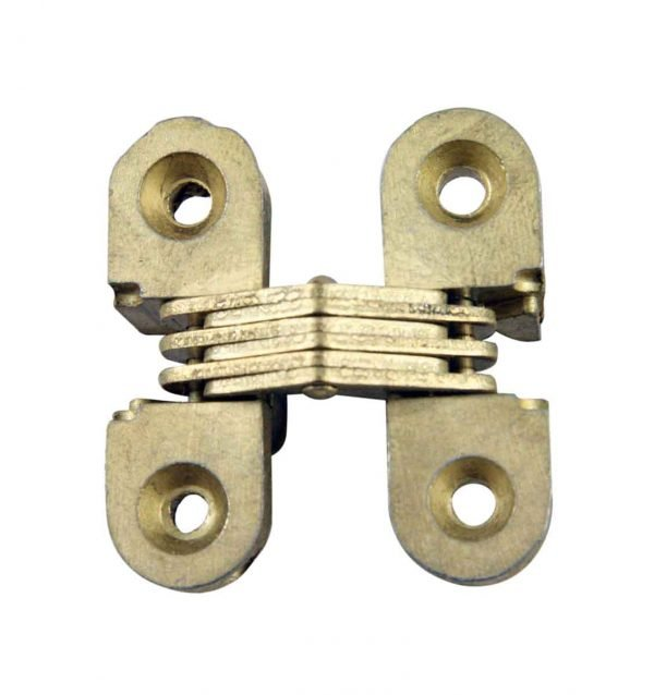 Cabinet & Furniture Hinges - Soss Invisible Dull Brass Hinge