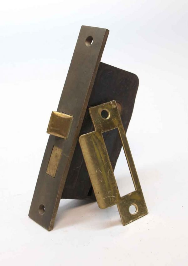 Door Locks - Brass & Cast Iron Antique Door Mortise Lock