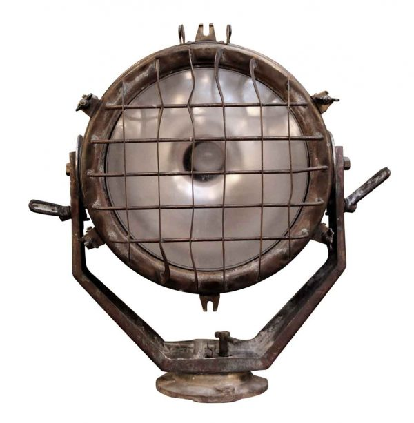 Nautical Lighting - Large Brass Ship 19 in. Spot Light