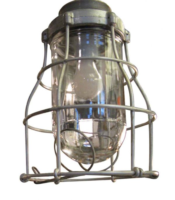 Nautical Lighting - Rewired Steel 10 in. Nautical Cage Sconce
