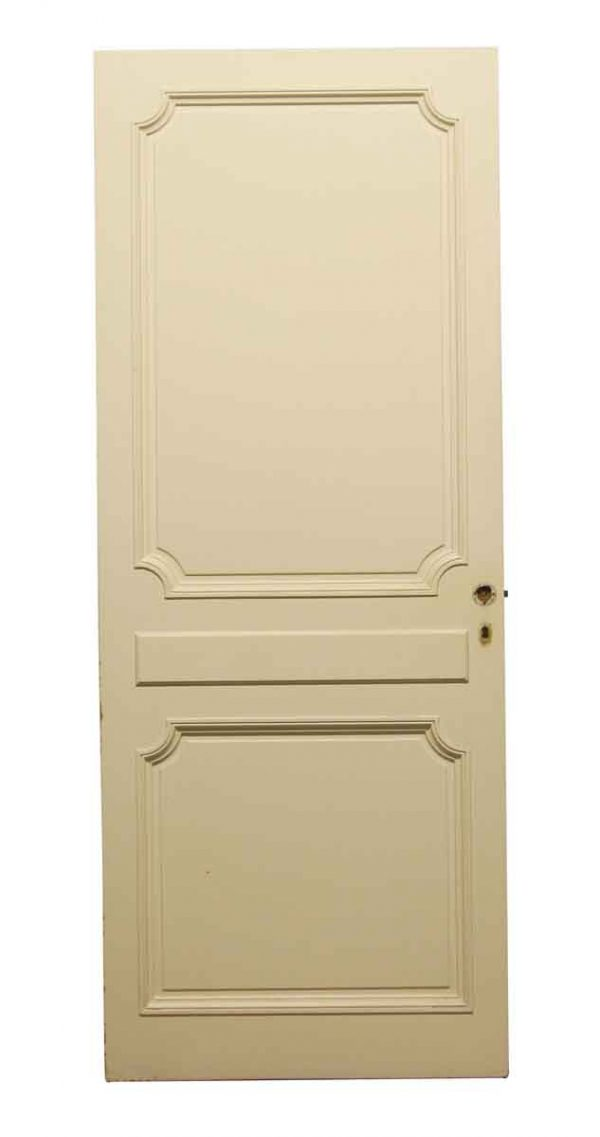Standard Doors - Vintage 2 Panel Wood Passage Door 80.625 x 32