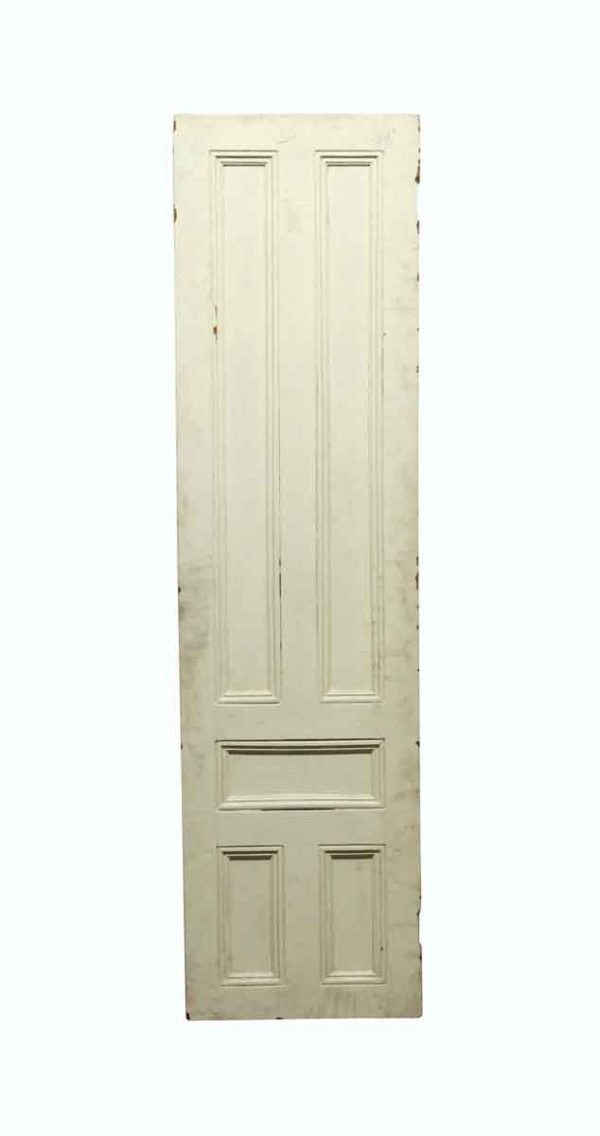 Standard Doors - Vintage 5 Panel White Passage Door 74.75 x 19.875
