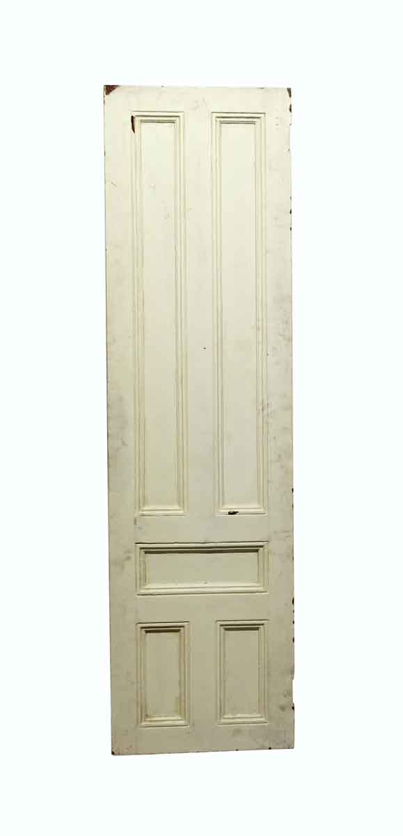 Standard Doors - Vintage 5 Panel White Passage Door 74.75 x 20