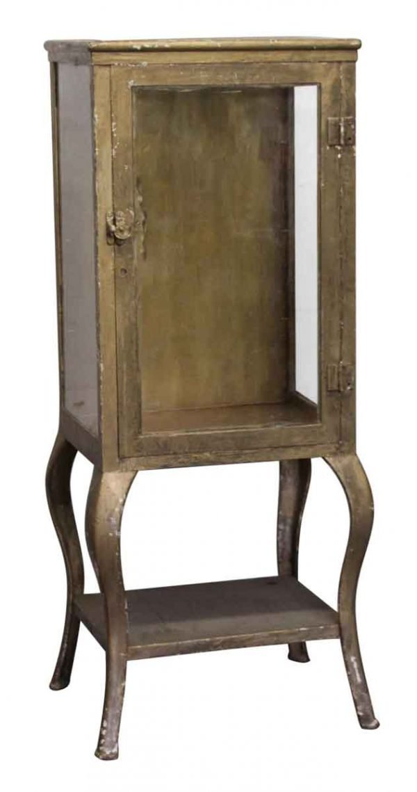 Cabinets - Antique Medical Cabinet with Cabriole Legs