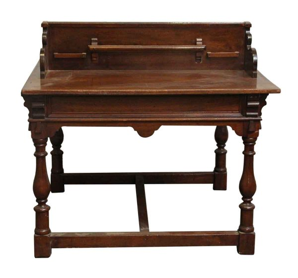 Commercial Furniture - Reclaimed Oak Bank Table