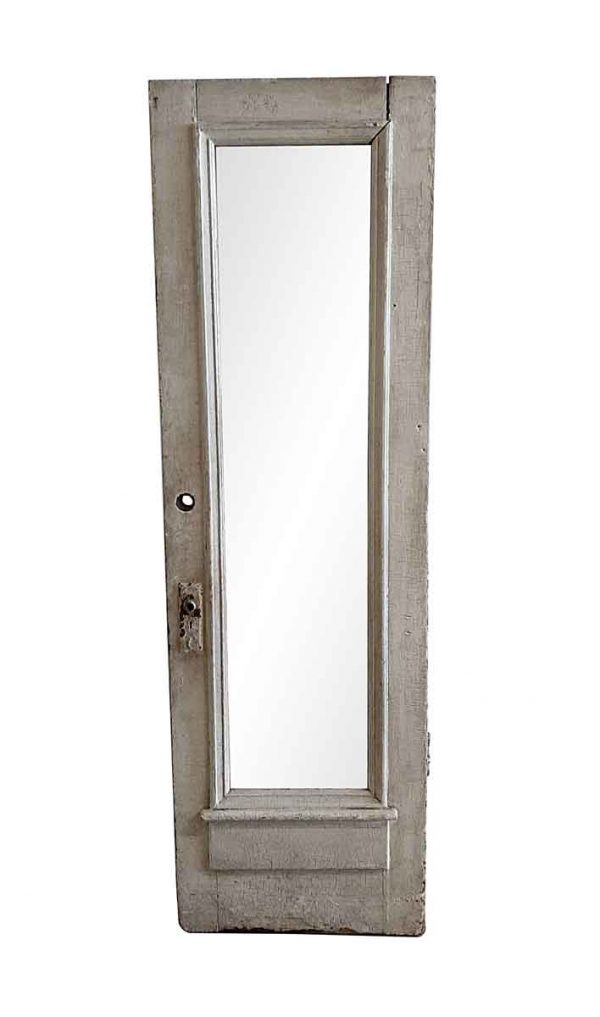 Entry Doors - Antique 1 Full Lite Wood Entry Door 85 x 26.25
