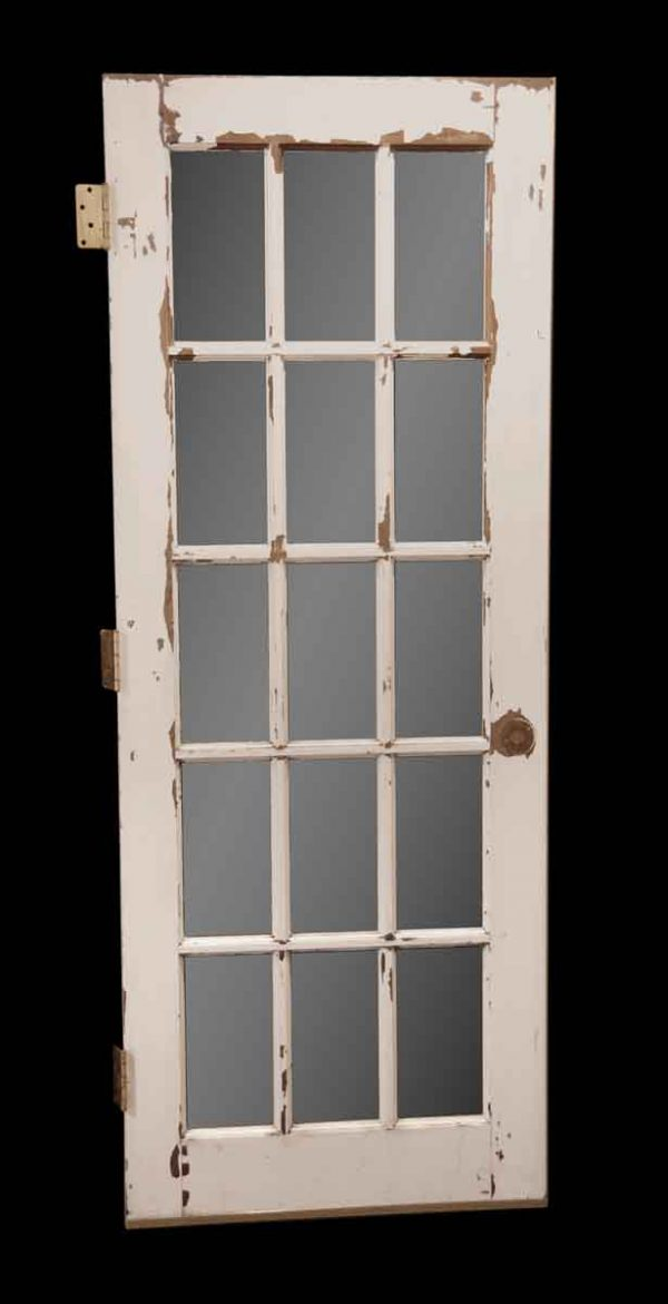 French Doors - Vintage Wood 15 Lite French Door 77.75 x 29.875