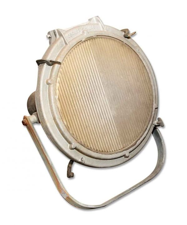 Industrial & Commercial - Antique Crouse & Hinds Spot Light