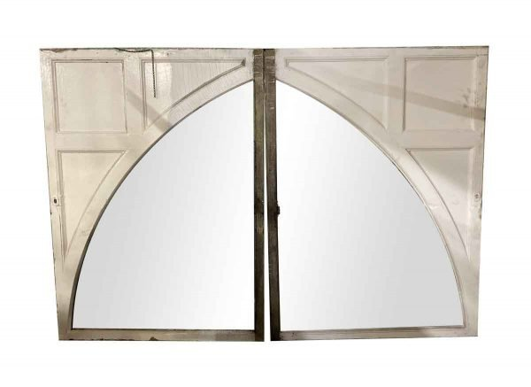 Reclaimed Windows - Pair of 1910 Huge 8 ft Gothic Arched Windows