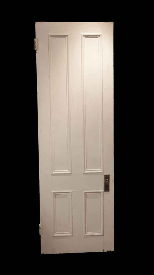 Standard Doors - Antique 4 Panel Wood Passage Door 89.5 x 29
