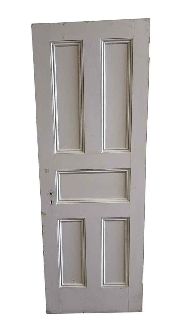 Standard Doors - Antique 5 Pane Wood Passage Door 82.5 x 29.5